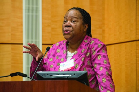 Grace Naledi Mandisa Pandor, minister of science and technology, South Africa. Credit: Cable Risdon/NAS