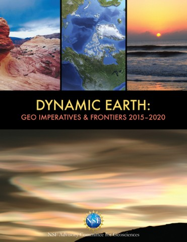 NSF's Directorate for Geosciences has an updated strategic planning report.