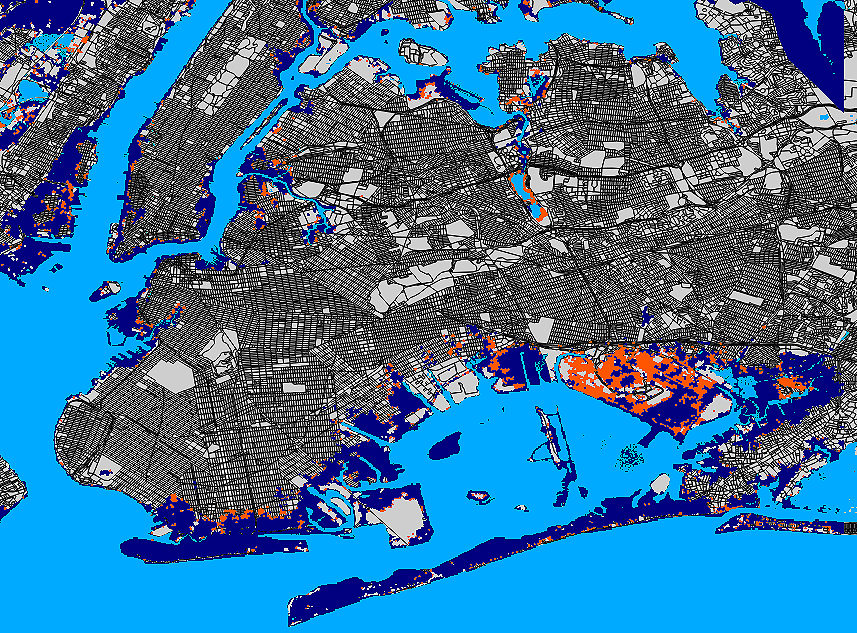 Sea Level Rise Added Billion To Sandyaposs Toll In New York - New us map after sea level rise