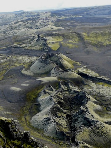 Fissures near Laki volcano in Iceland opened up in 1783, spewing toxic gases and poisoning thousands across Europe and North Africa. What could be the consequences if such an event happened today? Credit: albir, CC BY-NC-SA 2.0