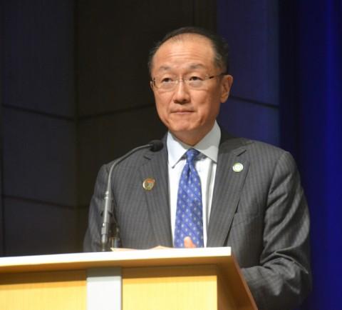 Jim Yong Kim, president of the World Bank Group. Credit: Randy Showstack