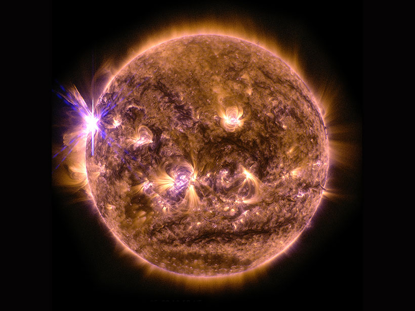 Protecting Earth from Solar Storms