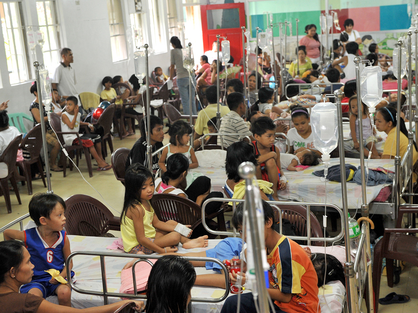 THE STUDY ABOUT DENGUE IN THE PHILIPPINES
