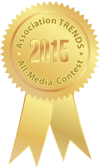 Association TRENDS 2015 gold medal