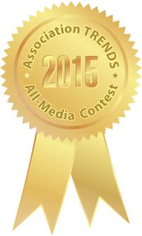 Association TRENDS 2015 gold medal