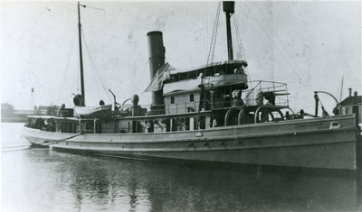 The last known broadside photo of the USS Conestoga.
