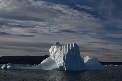 Iceberg near West Greenland in summer 2014.