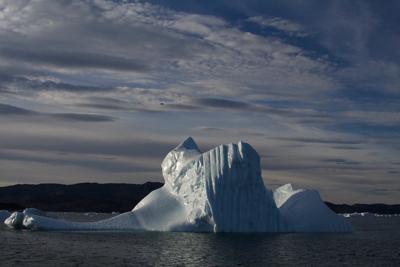 Iceberg near West Greenland in summer 2014.