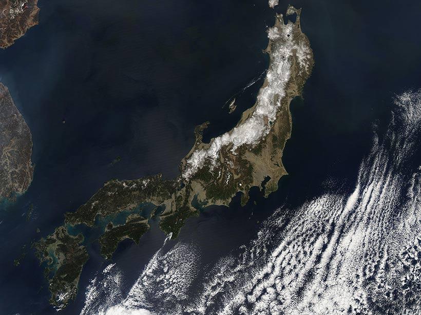 Japan satellite picture — pic 14