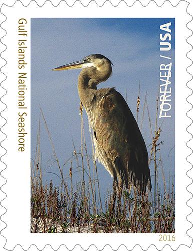 Gulf Islands National Seashore postage stamp.