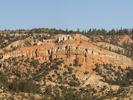 Ruby's Inn Thrust Fault, Bryce Canyon National Park