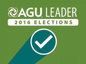 2016 AGU elections logo