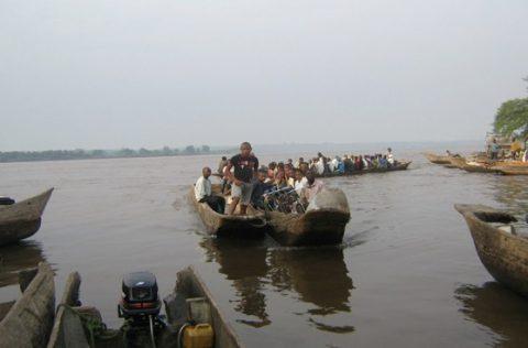 The Congo at Kisangani. Credit: Dr. Raphael M. Tshimanga, Department of Natural Resources Management and CB-HYDRONET, University of Kinshasa