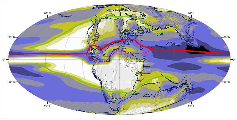La zona de convergencia intertropical no siempre fue una sola banda alrededor del ecuador.