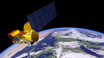 NASA's Aqua satellite.