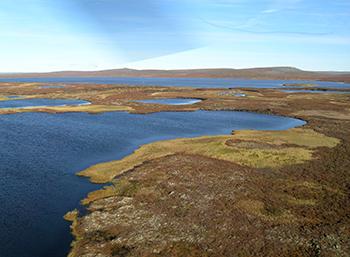 Thermokarst lake