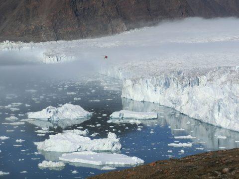 Bowdoin Glacier, northwest Greenland (July 2015). Credit: Evgeny Podolskiy