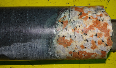 drill core from Chicxulub's peak ring
