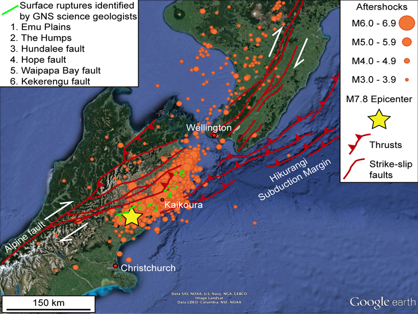 Complex Earthquake Raises Complex Questions
