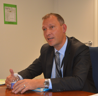 Thomas Zurbuchen, NASA's new associate administrator for the agency's science mission directorate.