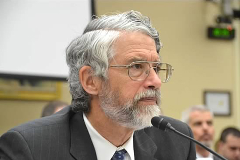 John Holdren testifying at a 2013 congressional hearing.