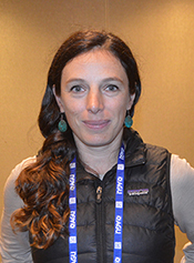 Jane Zelikova, research scientist at the University of Wyoming in Laramie.