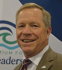 Jon White, president and CEO of the Consortium for Ocean Leadership in Washington, D. C.