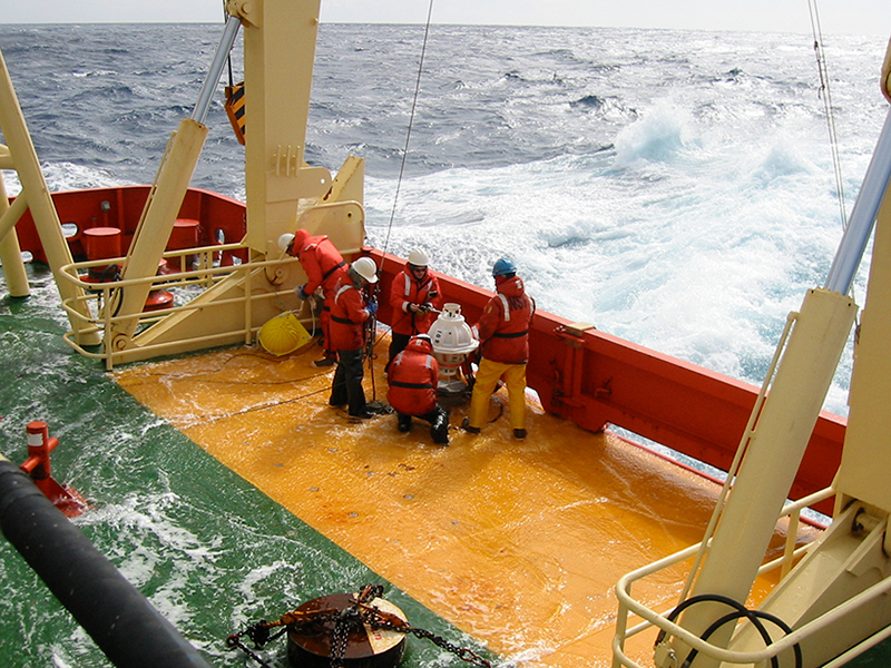 Researchers measure the strength of the Antarctic Circumpolar Current