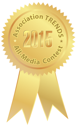 In March 2016, Eos magazine received a gold medal from Association Trends for Most Improved Magazine or Journal.
