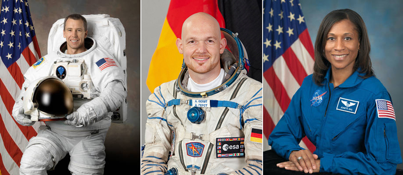 New space station astronauts