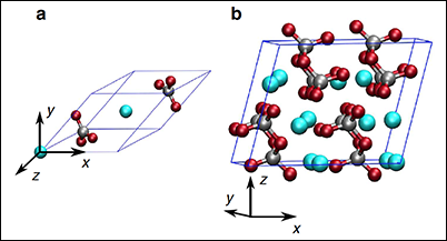 Under the high pressures and temperatures in the lower mantle, ferromagnesian carbonates undergo a phase transformation.