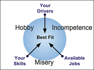 Finding your best science career fit requires considering how your skills and drivers align with the job market.