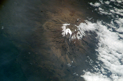 Mt. Kilimanjaro's Northern Ice Field.