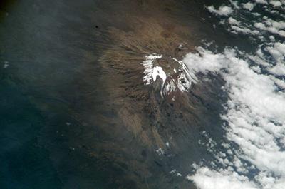 Mt. Kilimanjaro's Northern Ice Field.