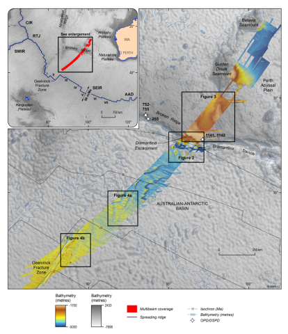 Geological Insights from Malaysia Airlines Flight MH370 Search - Eos