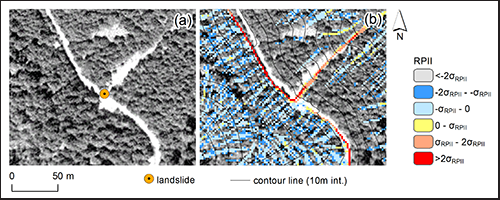 Roads amplify remotely sensed drainage signatures, another example of landscapes altering to the topographic fingerprints of humanity.