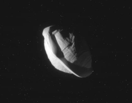 Saturn's moon, Pan