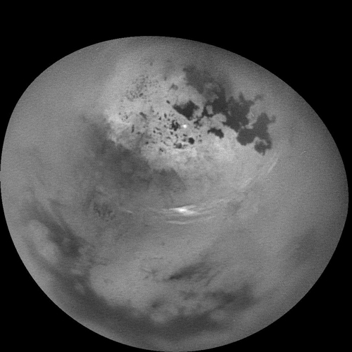 Titan clouds
