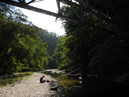 Researchers test streams and rivers across the United States to understand their role in the carbon cycle.