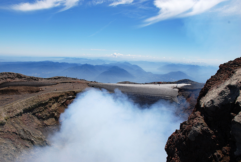 Newly installed instruments offer insight into the behavior of Chile's Villarrica volcano