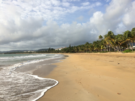 Northeast coast of Puerto Rico near Luquillo.