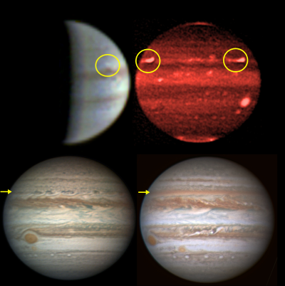 New images offer insight into how storms can impact Jupiter's jet stream