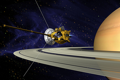 Cassini-Huygens mission spacecraft