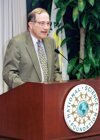Neal Lane, former director of the Office of Science and Technology Policy.