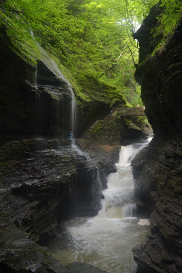 River water plays a crucial role in molding land formations like Watkins Glen, a popular hiking destination near Ithaca, N.Y.