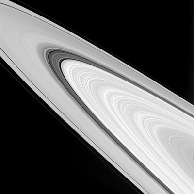Saturn's rings in great detail