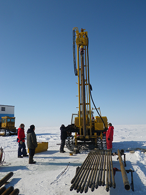 Submarine permafrost cores show how flooding helped microbial communities flourish