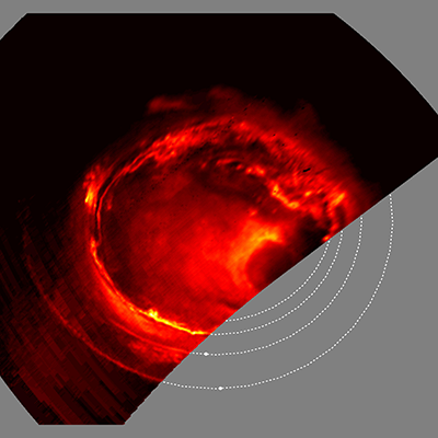 New satellite images of Jupiter's auroras reveal new insight into their structure