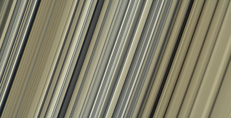 Cassini image of Saturn's rings