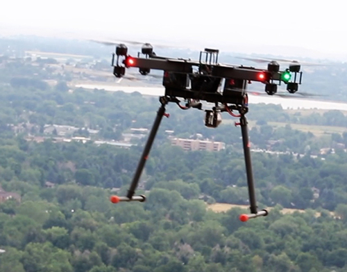 Airborne drone